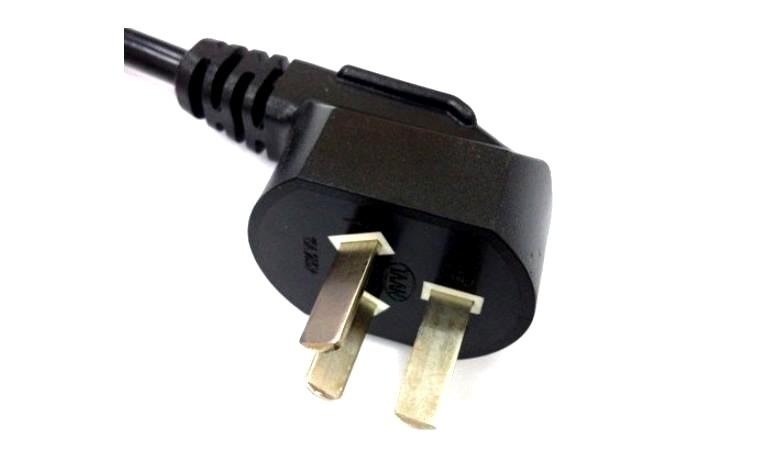 China American Two Wire Power Cord Qp2a China Ul Two Wire Power